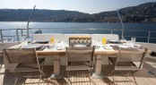 Motor Yacht LA MASCARADE - Aft Deck