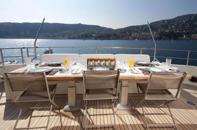 Motor Yacht LA MASCARADE -  Aft Deck