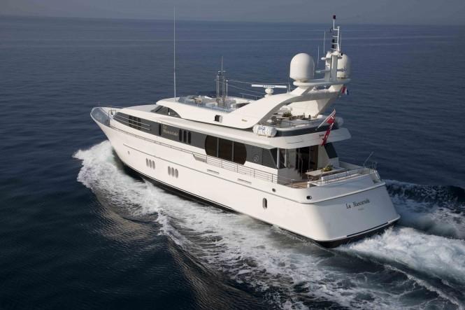 Motor Yacht LA MASCARADE -  Cruising