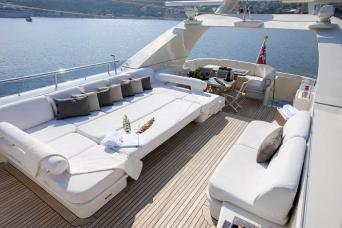 Motor Yacht LA MASCARADE -  Top Deck