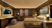 Motor Yacht OKKO - Rendering of the interior - Double Stateroom