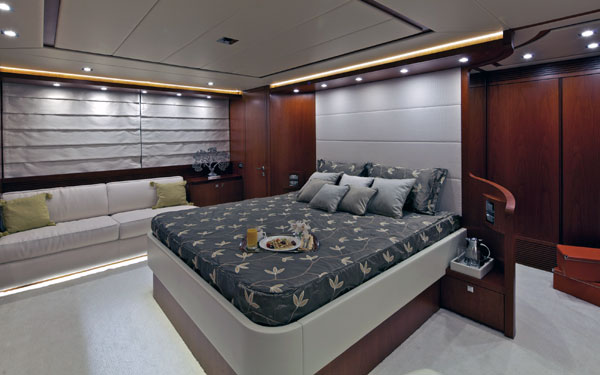 Motor yacht Marnaya - Accommodation double cabin