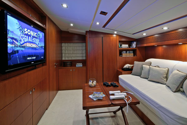 Motor yacht Marnaya - Playroom/Study/Cabin
