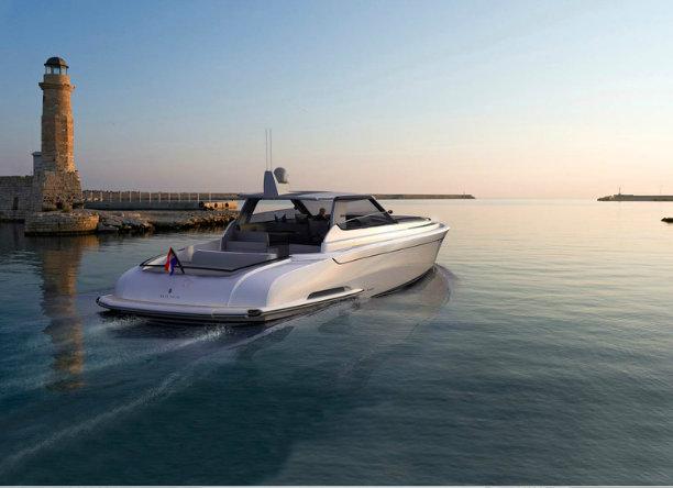 Mulder luxury yacht Bellagio - rear view