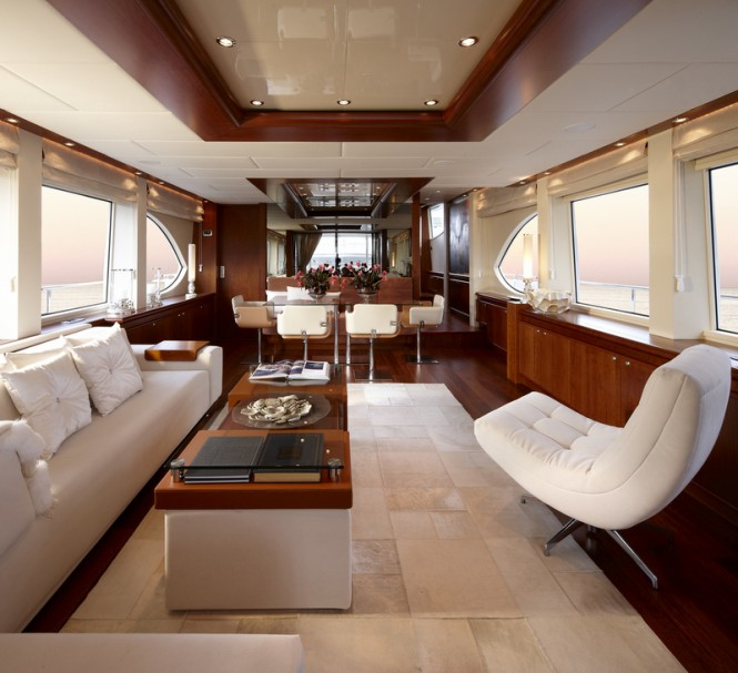 My Way superyacht Interior