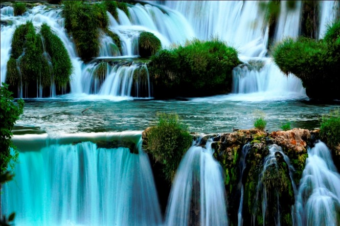 Natural Beauty in Croatia Krka