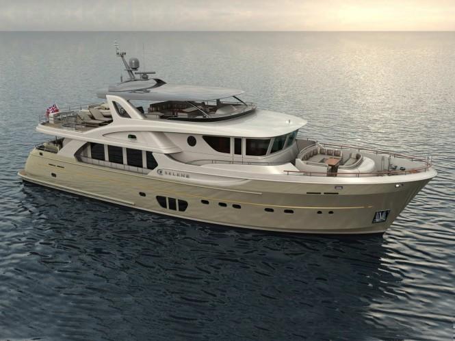 Ocean Explorer series motor yacht Selene 92 by Selene Yachts
