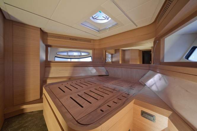 Pershing 82 superyacht - VIP cabin