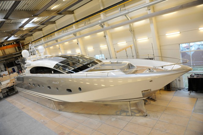 Project 116 motor yacht Shooting Star a 38 metre AeroCruiser by Danish Yachts
