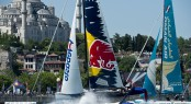 Red Bull Sailing Team and Oman Air go head to head
