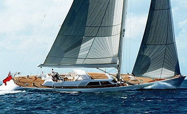 Sailing yacht UNFURLED by Royal Huisman to participate in the Pendennis Cup