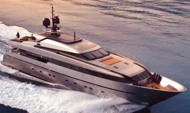 Sanlorenzo luxury yacht 40Alloy
