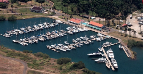 Shelter Bay Marina in Panama