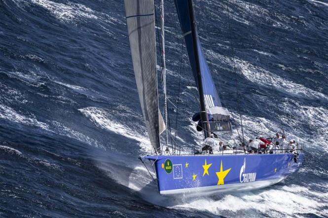McConaghy superyacht Esimit Europa 2 Credit: Rolex/Kurt Arrigo