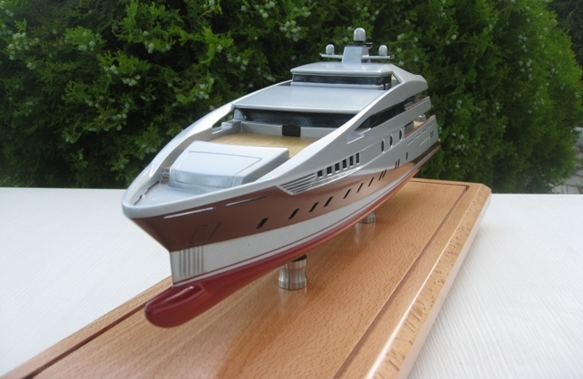 Superyacht Project 591 Model