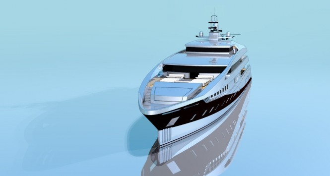 Superyacht Project 591 - front view