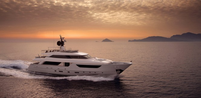Superyacht SD122 by Sanlorenzo