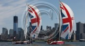 The Clipper Round the World Yacht Race flotilla in New York Credit Abner KingmanonEdition