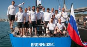 The Gazprom sponsored team made up of Russian and Italian sailors will be racing the Swan 60 in Saint-Tropez with the momentum of two events already beh