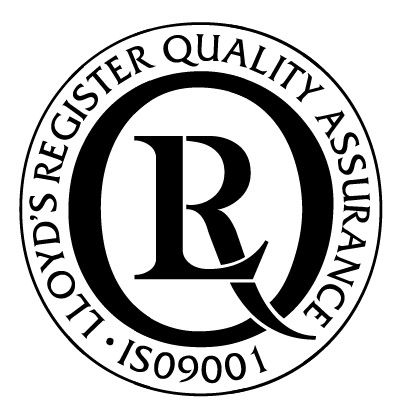 The coveted Lloyds Registered Group ISO 90012008 certification