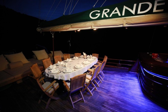 Turkish Gulet Grande Mare - Luxury charter yacht