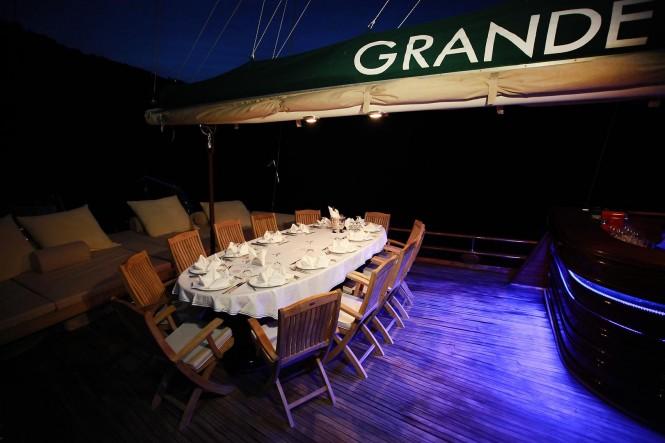 Turkish Gulet Grande Mare - Luxury charter yacht