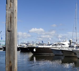 The best Dutch yachtbuilders on display at the 2012 HISWA Amsterdam in-water Boat Show