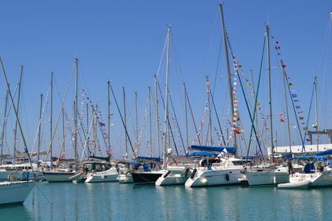 Yachts at the EMYR 2012