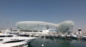 Yas Marina - an amazing superyacht marina situated in Abu Dhabi