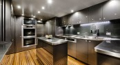 Zenith superyacht Galley