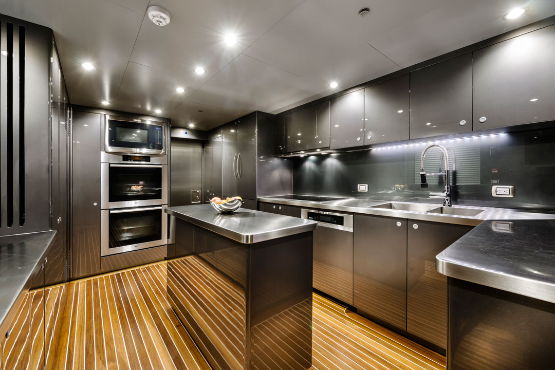 Zenith Superyacht Galley Yacht Charter News