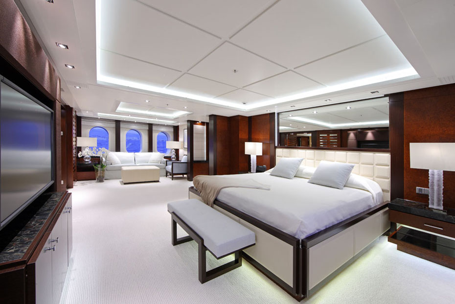 IPad Controlled Superyacht Solemates Interior