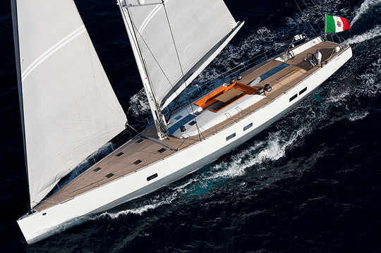 100ft Wally sailing yacht INDIO