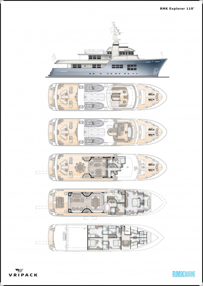 110ft explorer yacht Vripack 110