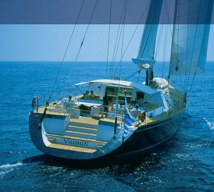 130ft charter yacht VAIMITI - Aft