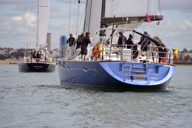 2012 Oyster Regatta in Cowes - Photo Mike Jones  Waterline