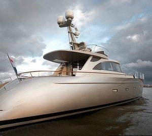 23m motor yacht AY74 by Acico Yachts