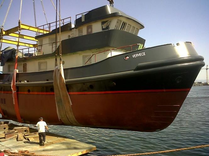 30m superyacht Vervece