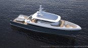 32M Global Explorer superyacht concept by Van Geest Design