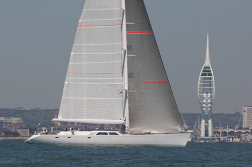 34m superyacht Unfurled by Royal Huisman Photo Credit: Claire Matches