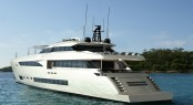 45m superyacht Wider 150 - rear view