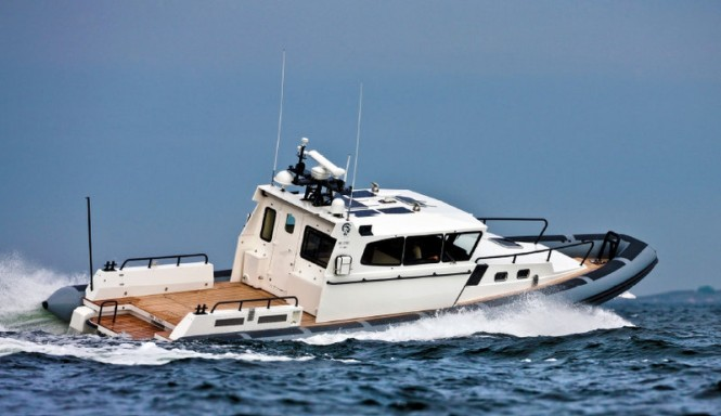 50ft Rupert Indi Jones yacht tender for the 100ft Wally superyacht Indio