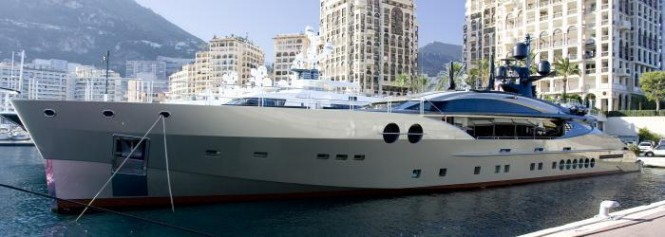 50m Palmer Johnson superyacht DB9 with a fully integrated Creston system