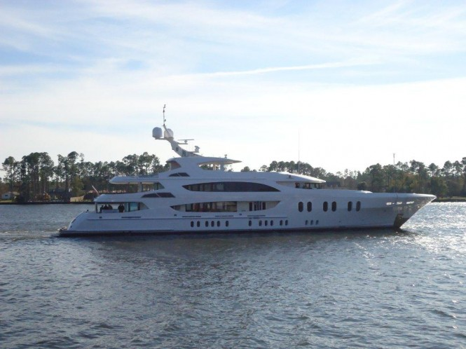 57m luxury motor yacht LADY LINDA by Trinity Yachts