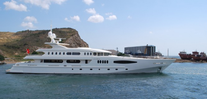 58m luxury yacht Egeria