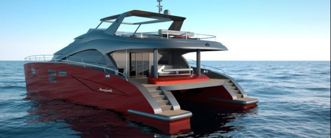 60 Sunreef Power yacht EWHALA