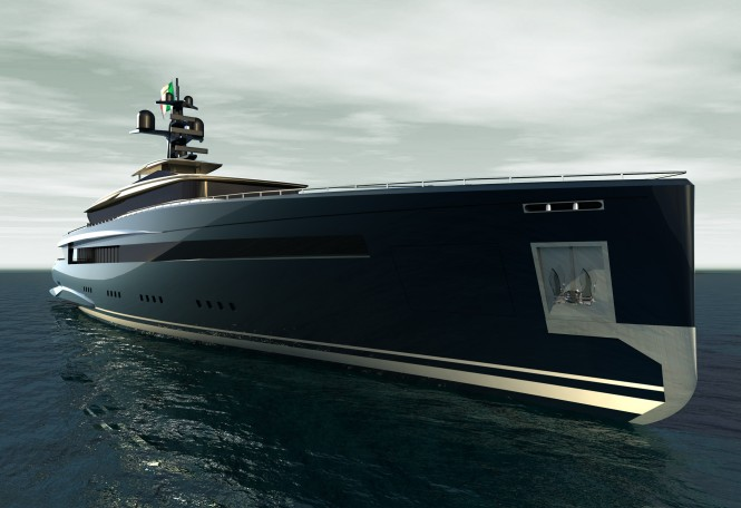 60m motor yacht Impervia by Pama Design and Valerio Romondia