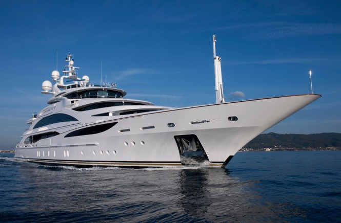 61m megayacht Diamonds are Forever by Benetti Yachts