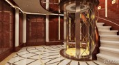 61m megayacht YN248 - Interior