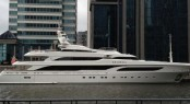65m Benetti luxury superyacht Seanna in London